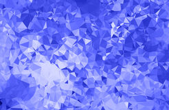 Abstract blue triangle background Royalty Free Stock Image