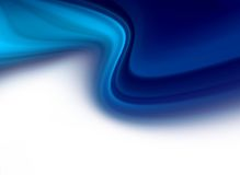 Abstract Blue Twist Header Background Stock Images