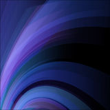 Abstract blue twist lines vector background. Eps 10 Royalty Free Stock Images