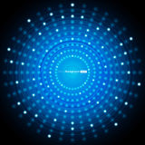 Abstract Blue Vector Background Stock Image