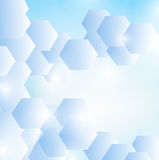 Abstract blue vector background. Browse my gallery for more vector images Royalty Free Stock Photo