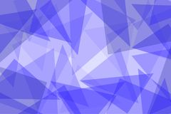 Abstract blue vector background with triangles. Illustration Stock Photos