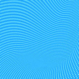 Abstract blue vector dots background. Stock Image