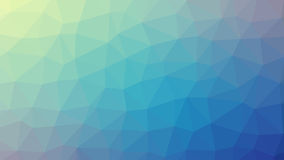 Abstract blue vector gradient lowploly of many triangles background for use in design.  Stock Photos