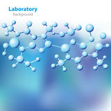 Abstract blue-violet laboratory background. Royalty Free Stock Photo
