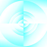 Abstract blue vortex Royalty Free Stock Photography