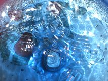 Abstract Blue water Stock Images