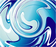 Abstract Blue Water Royalty Free Stock Images