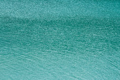 Abstract blue water sea for background Stock Photos