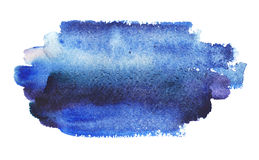 Abstract blue watercolor background Royalty Free Stock Image