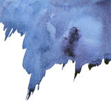 Abstract blue watercolor background Royalty Free Stock Photo