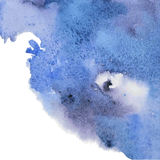 Abstract blue watercolor background for your design Royalty Free Stock Photos