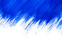 Abstract Blue watercolors. Blue watercolor background isolated on white Stock Photo