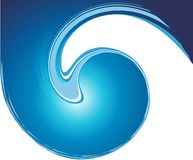 Abstract  blue Wave Stock Images