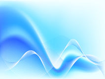 Abstract Blue wave Royalty Free Stock Photo