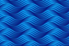 Abstract blue wave background in asian style. Vector illustratio. N stock illustration