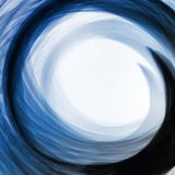 Abstract blue, wave background Royalty Free Stock Photography