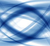 Abstract Blue Wave Set on Transparent  Background.  Royalty Free Stock Image