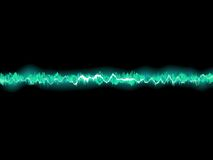 Abstract blue waveform. EPS 8 Stock Photos