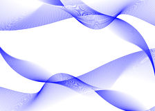 Abstract blue waves. Vector illustration Royalty Free Stock Photo
