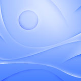 Abstract blue waves background Stock Image