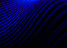 Abstract blue waves background Royalty Free Stock Photography