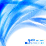 Abstract blue waves background Royalty Free Stock Image