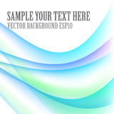 Abstract blue waves. Abstract background with waves blue color on white field Royalty Free Stock Photo