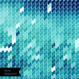 Abstract blue waves geometric background Stock Photos