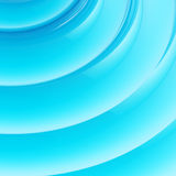 Abstract blue wavy background Stock Photo