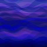 Abstract Blue Wavy Background Stock Photos