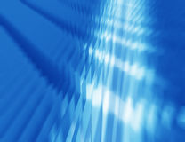 Abstract blue wavy background. Geometrical glass Royalty Free Illustration