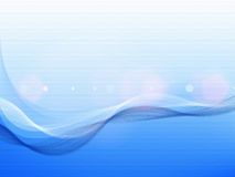 Abstract blue wavy Royalty Free Stock Photography
