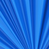 Abstract blue wavy smooth surface background. 3D rendering Royalty Free Stock Photography