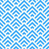 Abstract Blue and White Angle Pattern, vector Stock Photography