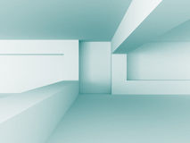 Abstract Blue White Architecture Construction Background Stock Photo
