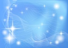 Abstract blue - white background Stock Photo