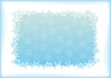 Abstract blue - white background Stock Photography