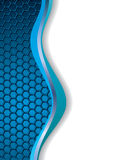 Abstract blue white background Royalty Free Stock Image