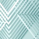Abstract blue white background, 3 d. Abstract blue white background, geometric pattern of intersected paper stripes. 3d illustration Stock Photos