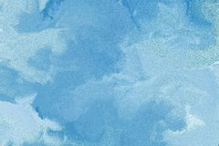 Abstract blue and white background Stock Photography