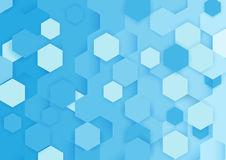Abstract blue and white background Stock Photos