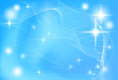 Abstract blue - white background Stock Image