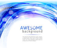 Abstract blue and white backgrounds Royalty Free Stock Photo
