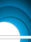 Abstract blue and white brochure Royalty Free Stock Photography