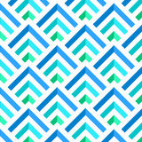 Abstract Blue and White 3D Stripes Pattern, vector Royalty Free Stock Image