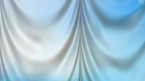 Abstract Blue and White Drapes Background royalty free illustration