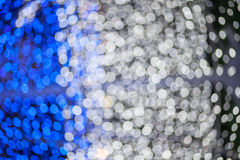 Abstract blue and white lights Royalty Free Stock Photos