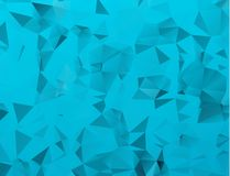 Abstract Blue White Polygonal Mosaic Background, Vector illustration, Creative Business Design Templates. Abstract Blue White Polygonal Mosaic Background royalty free illustration