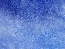 Abstract blue winter background Stock Photos